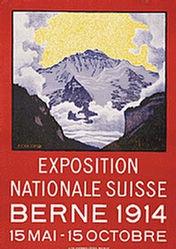 Colombi Plinio - Exposition Nationale Suisse