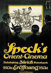 Deutsch Ernst (Dryden) - Speck's Orient Cinéma