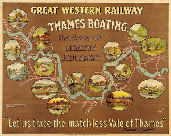 Anonym - Thames Boating -