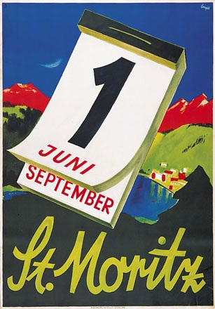 Carigiet Alois - St. Moritz