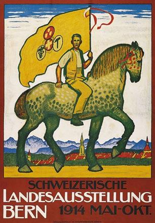 Cardinaux Emil - Schweizerische Landesausstellung Bern