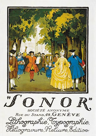 Courvoisier Jules - Sonor