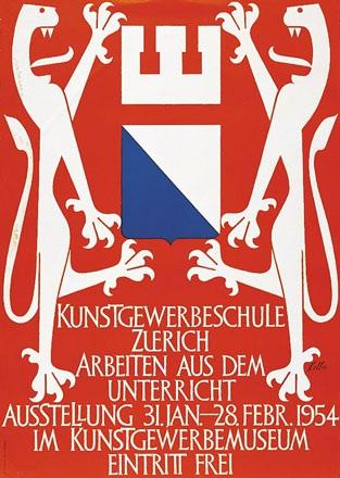 Keller Ernst - Kunstgewerbeschule Zürich