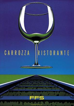 Rudin Marc - FFS - Carrozza Ristorante