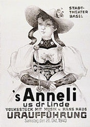 Monogramm L.M. - s'Anneli us dr Linde