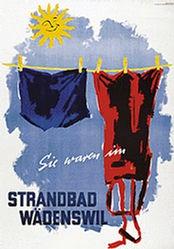 Zürrer Reklame - Strandbad Wädenswil
