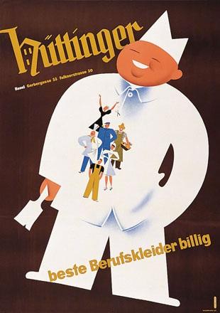 Bühler Fritz - Hüttinger Berufskleider