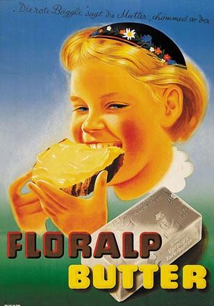 Monogramm K. - Floralp Butter