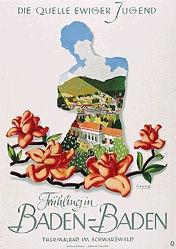Schwetz Franz - Frühling in Baden-Baden