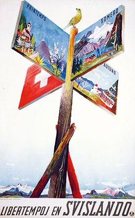 Carigiet Alois - Libertempoj en Svislando