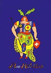 de Saint Phalle Niki - Miss Helvetica