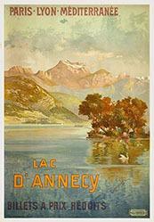 Tanconville (Henri Ganier)   - Lac d'Annecy