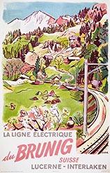 Surbek Viktor - La ligne électrique du Brunig