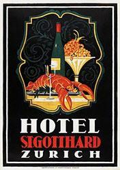 Baumberger Otto - Hotel St. Gotthard