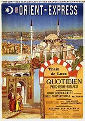 de Ochoa y Madrazo Rafael - Orient-Express - Train de Luxe