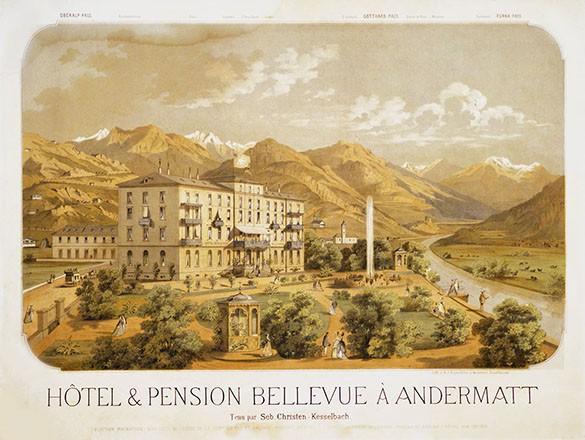 Anonym - Hôtel & Pension Bellevue