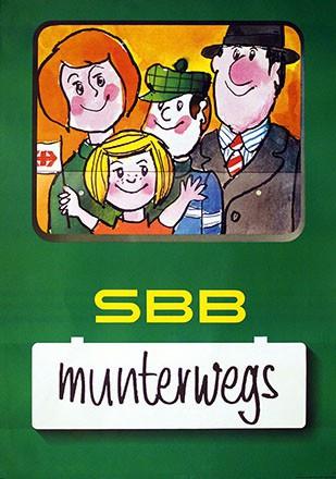 Mayer Roger - SBB - munterwegs
