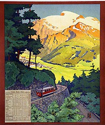 Anonym - Engelberg-Bahn