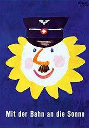 Leupin Herbert - SBB - Mit der Bahn an die Sonne