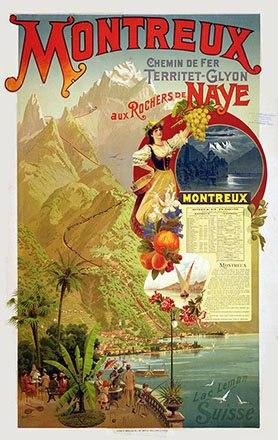 Balzer Peter - Montreux aux Rochers de Naye