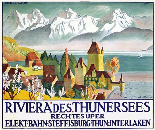 Gimmi Wilhelm - Riviera des Thunersees - Rechtes Ufer