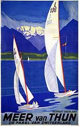 Baumberger Otto - Meer van Thun