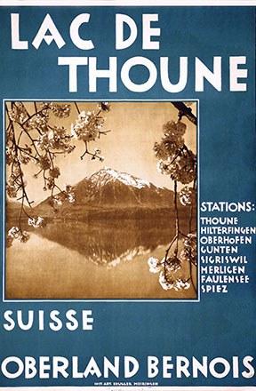 Anonym - Lac de Thoune