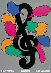 Fukuda Shigeo - 19 Jahre Jazz Festival