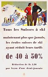 Thöni Hans - Tous les Suisses à ski
