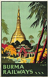 Blyth A. - Burma Railways