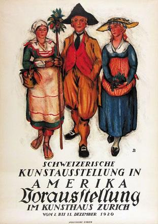 Baumberger Otto - Kunsthaus Zürich
