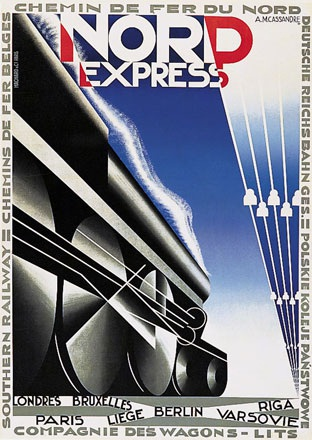 Cassandre A.M. - Nord Express -