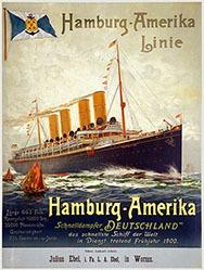Bohrdt Hans  - Hamburg-Amerika Linie