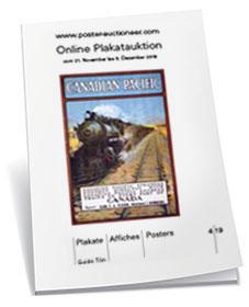 Booklet zu unserer Online-Auktion