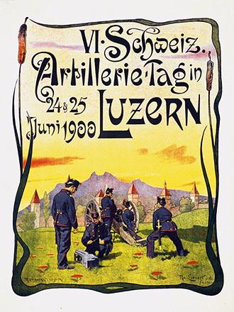Lienert Rudolf - VI. Schweiz. Artillerie-Tag