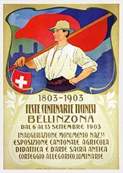 Monogramm TP - Feste centenarie Ticinesi