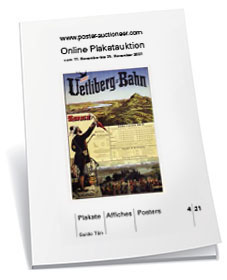 Booklet to our online auction