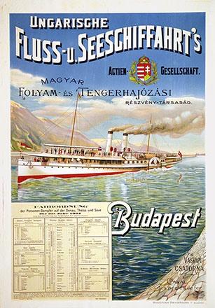 Anonym - Ungarische Fluss- u. Seeschiffahrtfahrt's