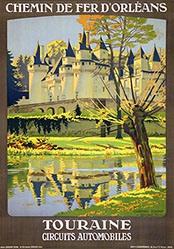 Duval Constant Léon - Toraine - Château d'Ussé