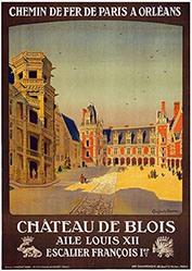 Duval Constant Léon - Château de Blois