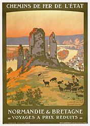 Duval Constant Léon - Normandie & Bretagne