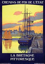 Duval Constant Léon - Roscoff - La Bretagne pittoresque